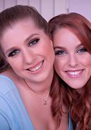 Lesbians Alex and Amarna